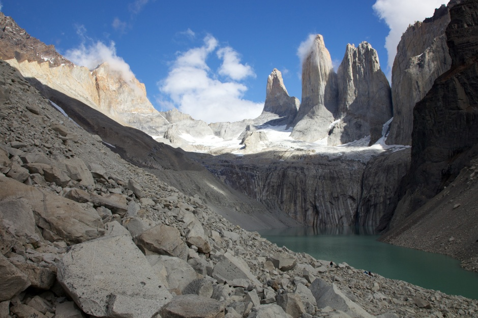 The three towers of Torres del Paine