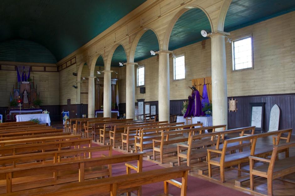 Nave of Iglesia de Beustra Senora de los Delores