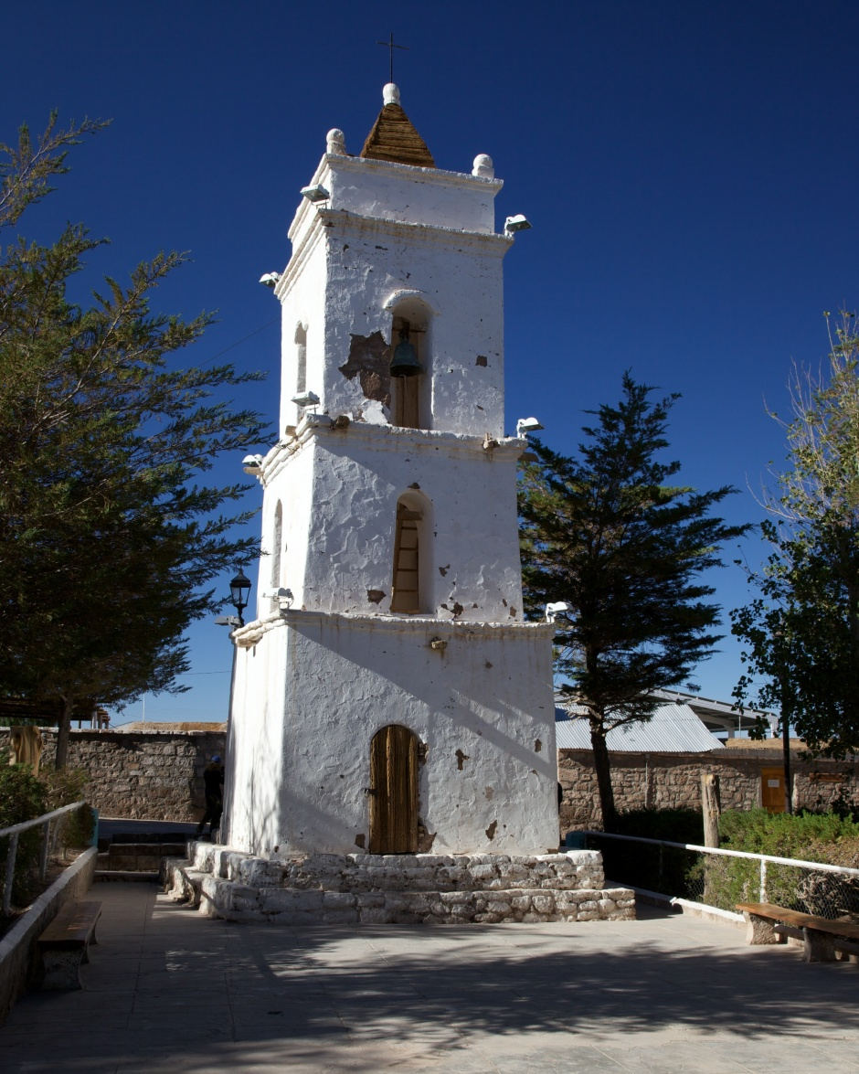 Bell tower at Toconao