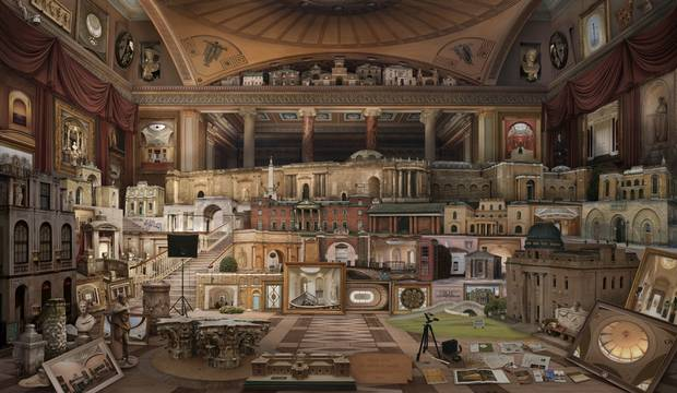 Gran Tour in search of Soane (after Gandy) be Emily Allchurch