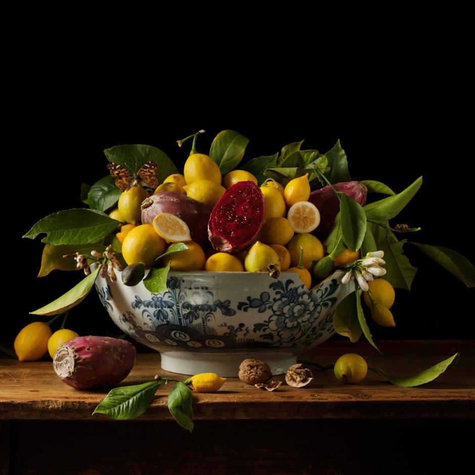 Lemon and Prickly Pears ©Paulette Tavormina