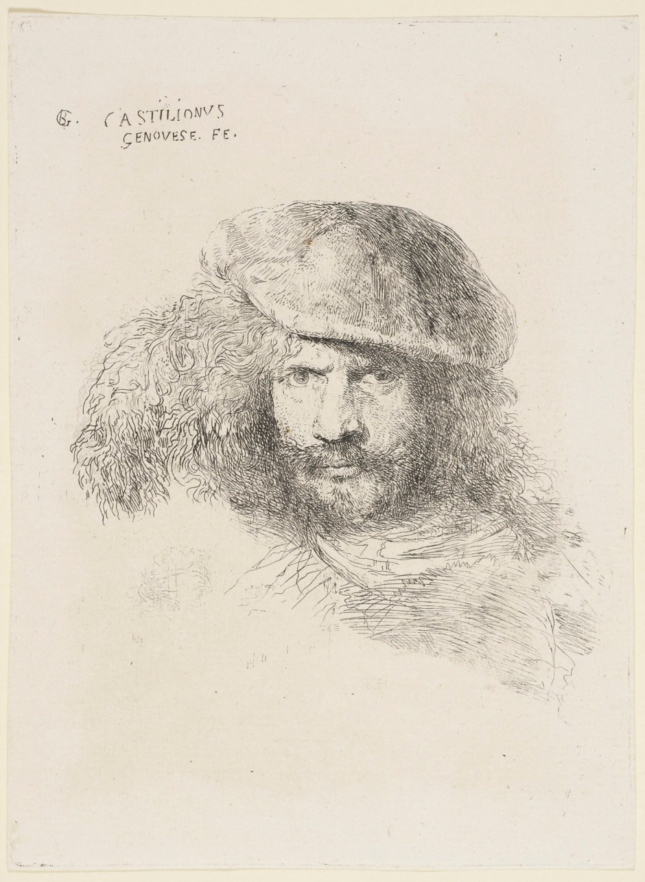 Presumed self-portrait. All images from the Royal Collection