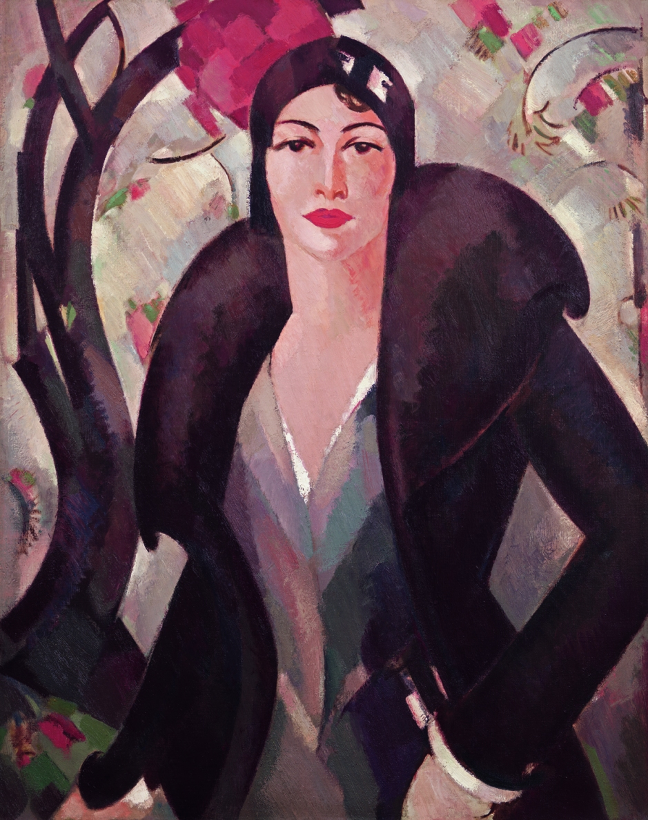 Grace McColl, 1930, JD Fergusson