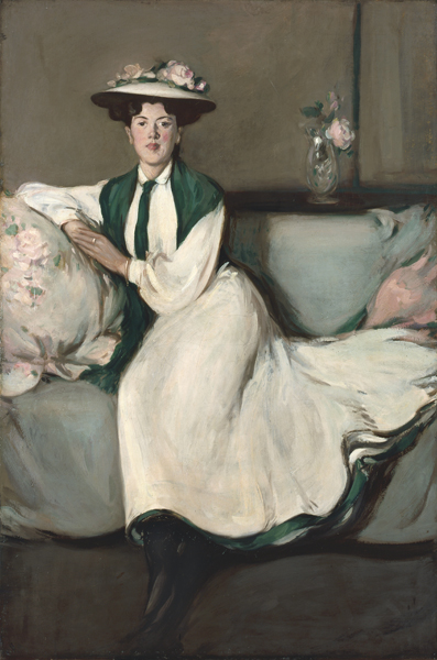 The White Dress: Portrait of Jean, 1904, JD Fergusson