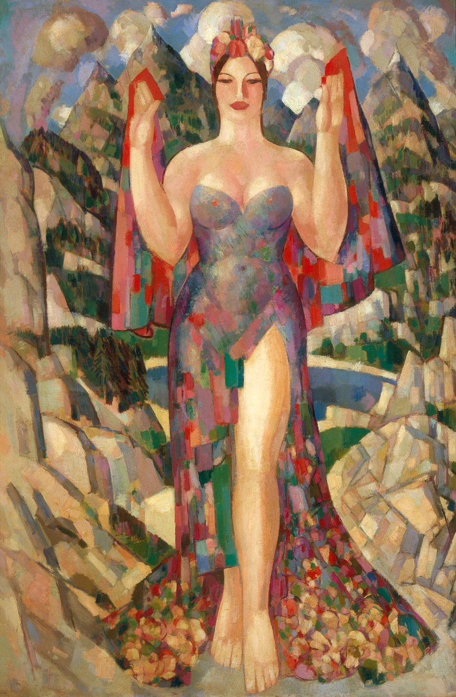 Danu, Mother of the Gods, 1952, JD Fergusson