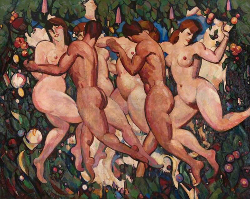 Les Eus, c.1913, JD Fergusson
