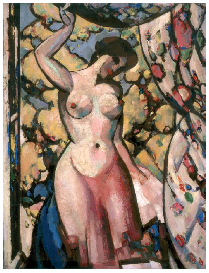 At my Studio Window, 1910, JD Fergusson