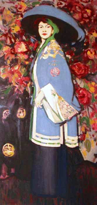 Le Manteau Chinois, 1909, JD Fergusson