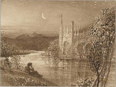 The Haunted Stream, 1826, Samuel Palmer