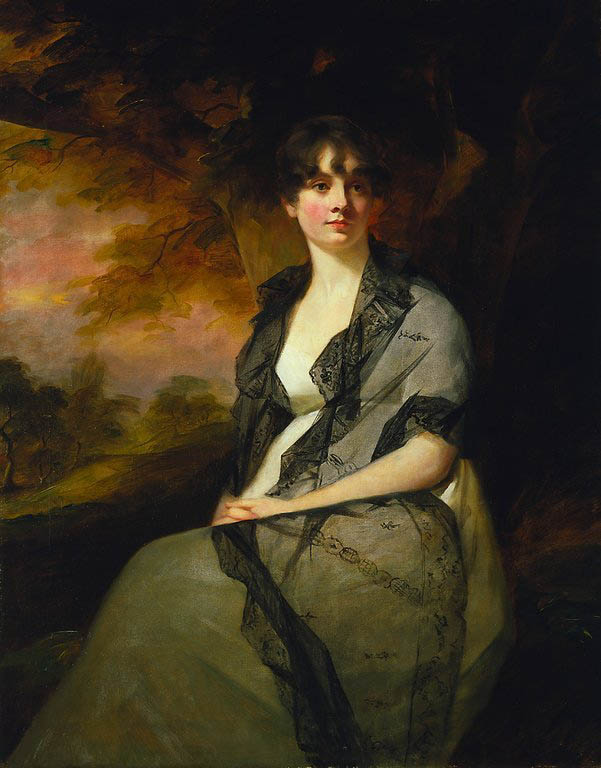 Mrs George Bell, by Sir Henry Raeburn