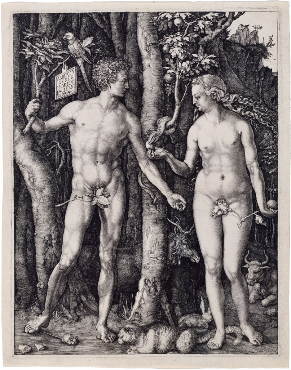 Adam and Eve, Albrecht Durer, 1504