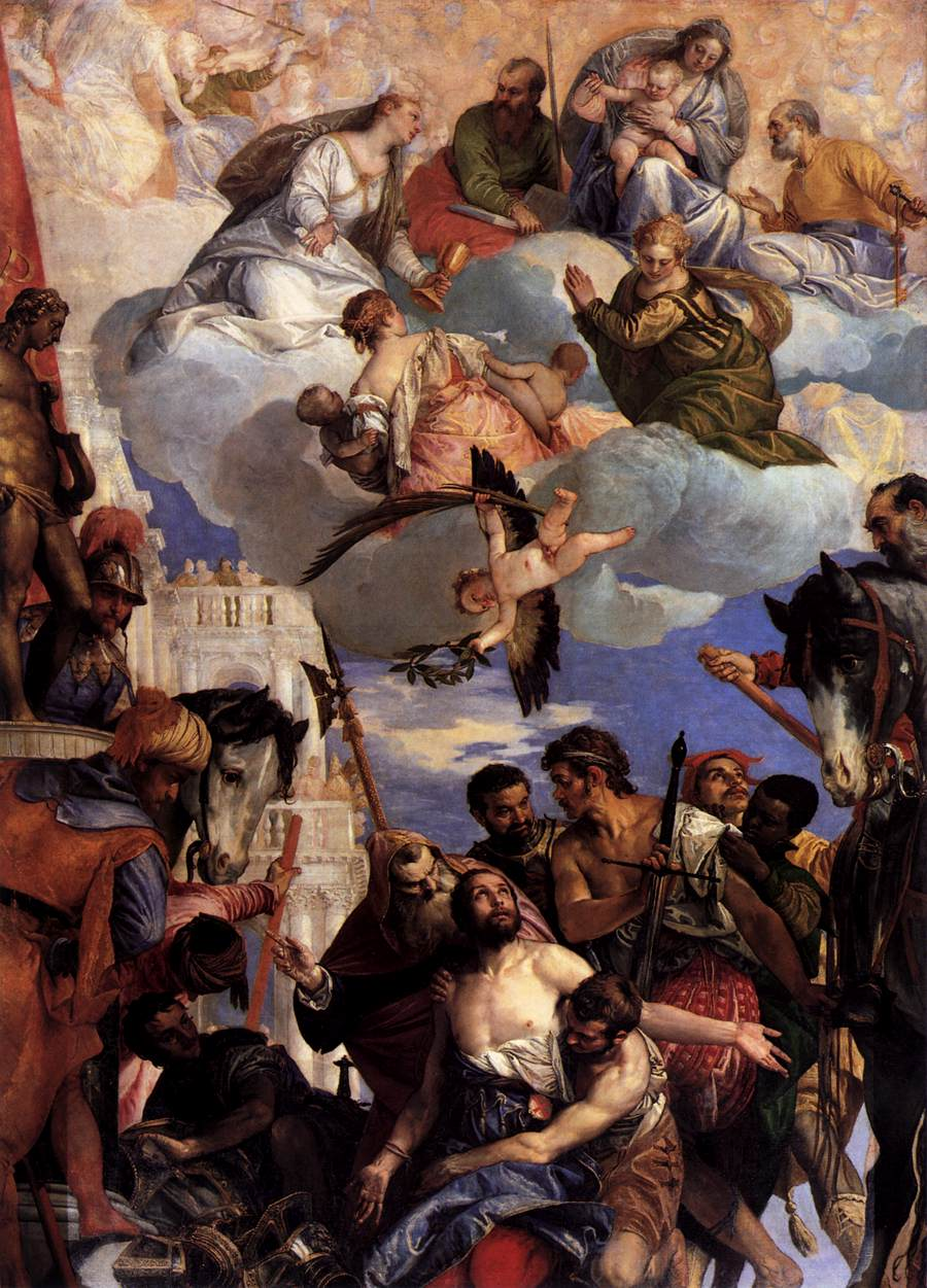Veronese, The Martyrdom of St George, c.1565