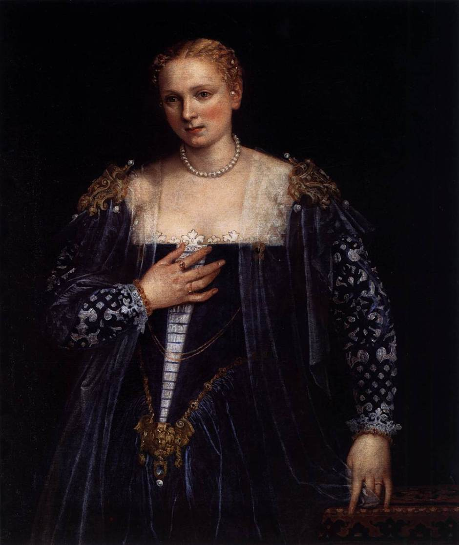 Veronese, Portrait of a Lady, known as the Bella Nani, 1560-65