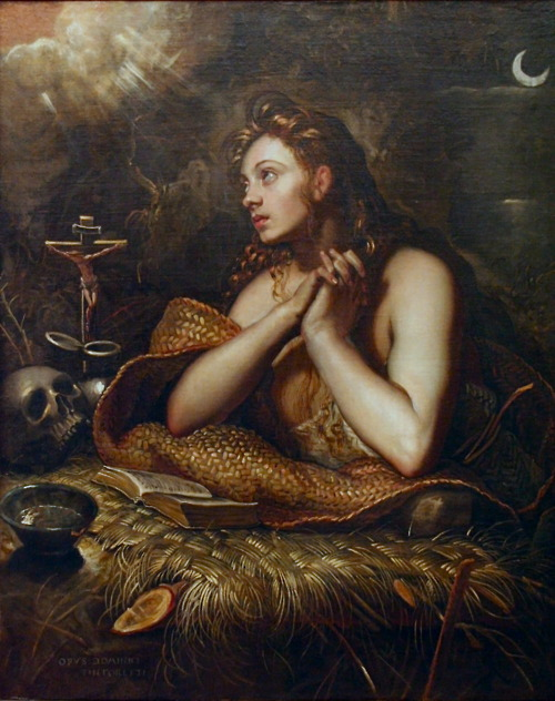 Tintoretto, The Penitent Magdalene