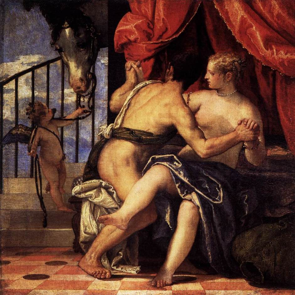 Veronese, Venus and Mars, 1575-80