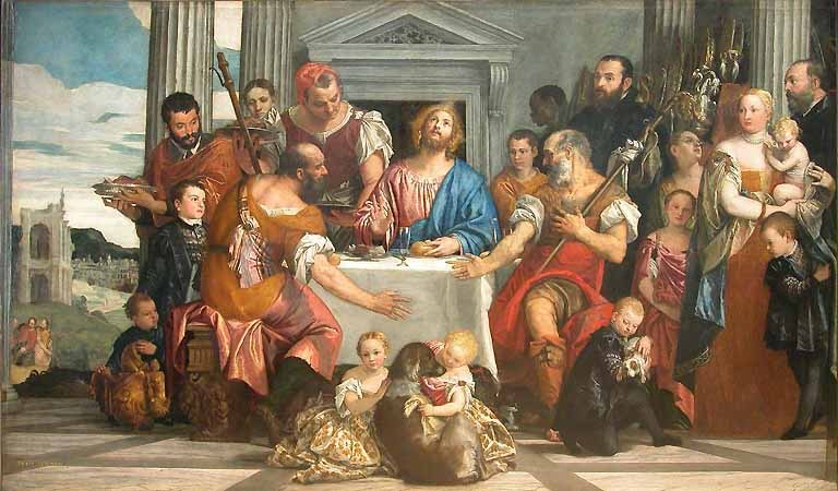 Veronese, The Supper at Emmaus, c.1555