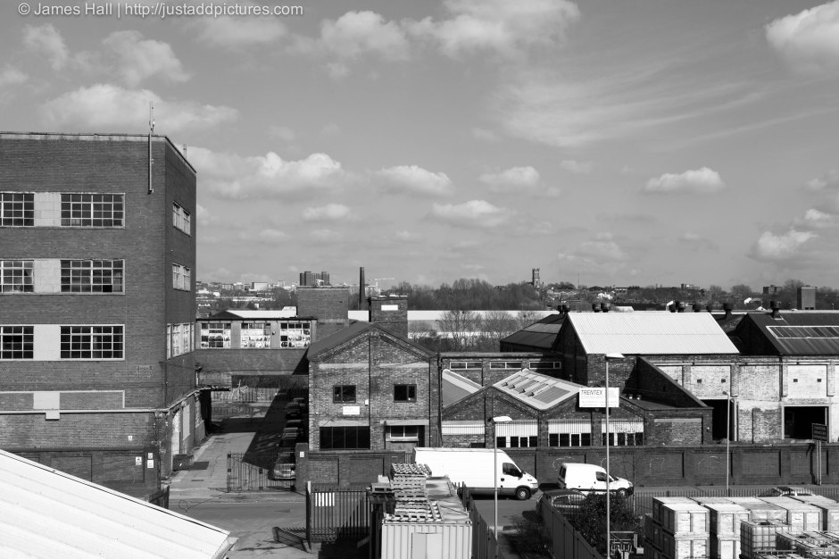 View over Stoke-on-Trent