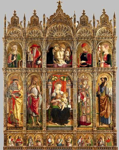 Carlo Crivelli, Polyptych of St Emygdius, Duomo di Sant'Emidio