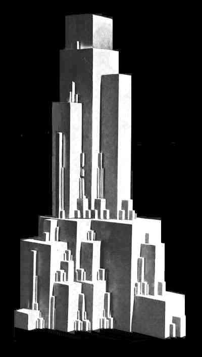 Architectron, Malevich, 1927