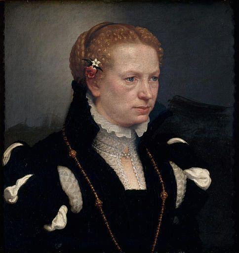 Portrait of Lucia Vertova Agosti, c1557-60