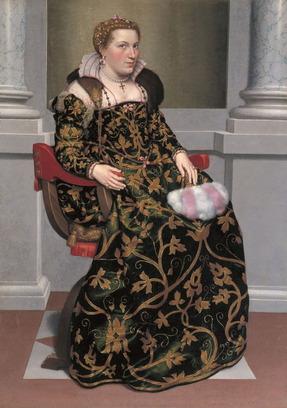Portrait of Isotta Brembati, c.1553