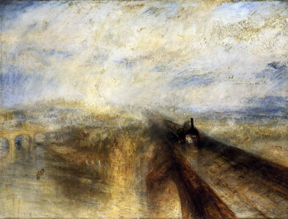 Rain, Steam and Speed, the Great Western Railway, 1844