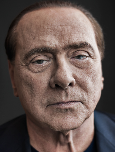 Silvio Berlusconi, by Paul Stuart