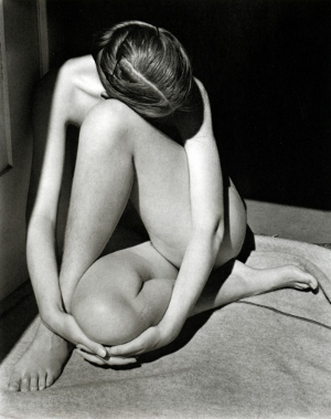 Nude (Charis, Santa Monica) by Edward Weston (1936)