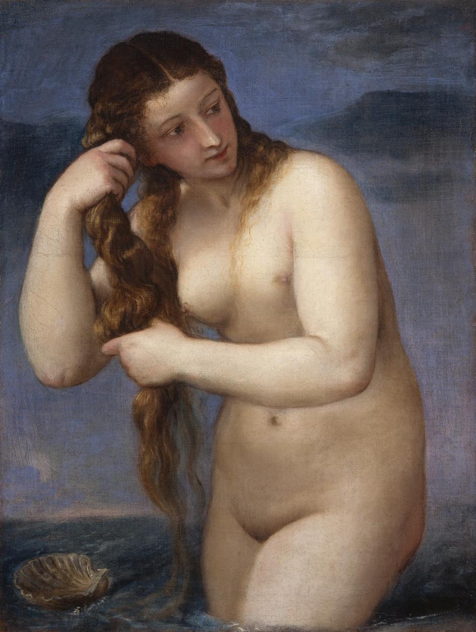 Venus Anadyomene by Titan (c.1520)