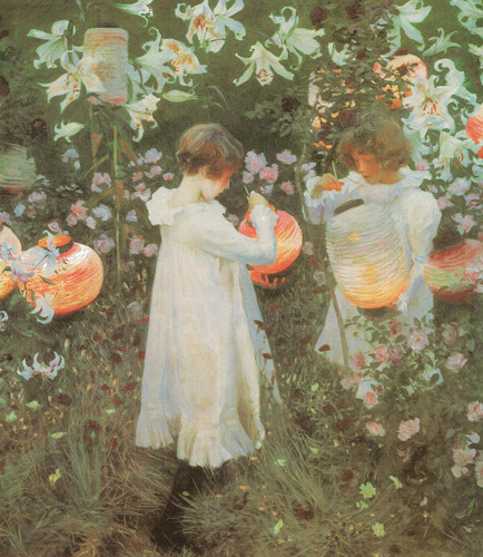 Carnation, Lily, Lily, Rose (1885-6) I found this painting to be a dreadful piece of twee sentimentality. Bring on the chocolate box lid!