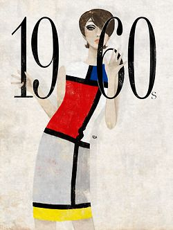 Not in exhibition Within 25 years, Mondrian's  images had been successfully appropriated by the fashion industry. Cool certainly, but revolutionary? Not really.