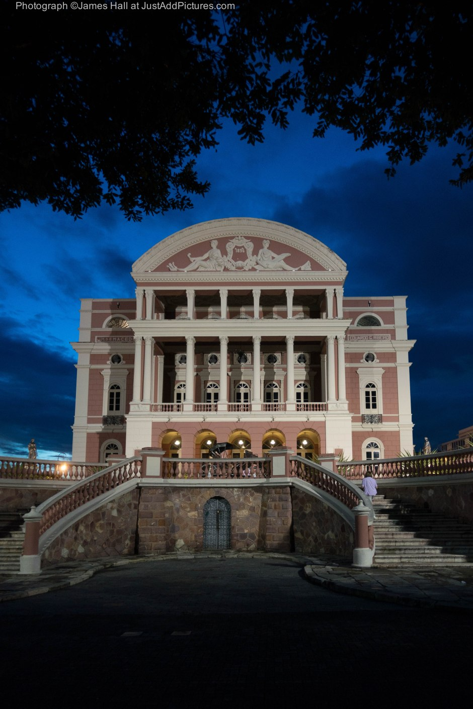 The Opera House, Manaus built when Manaus was the richest city in Brazil and a significant business centre.
