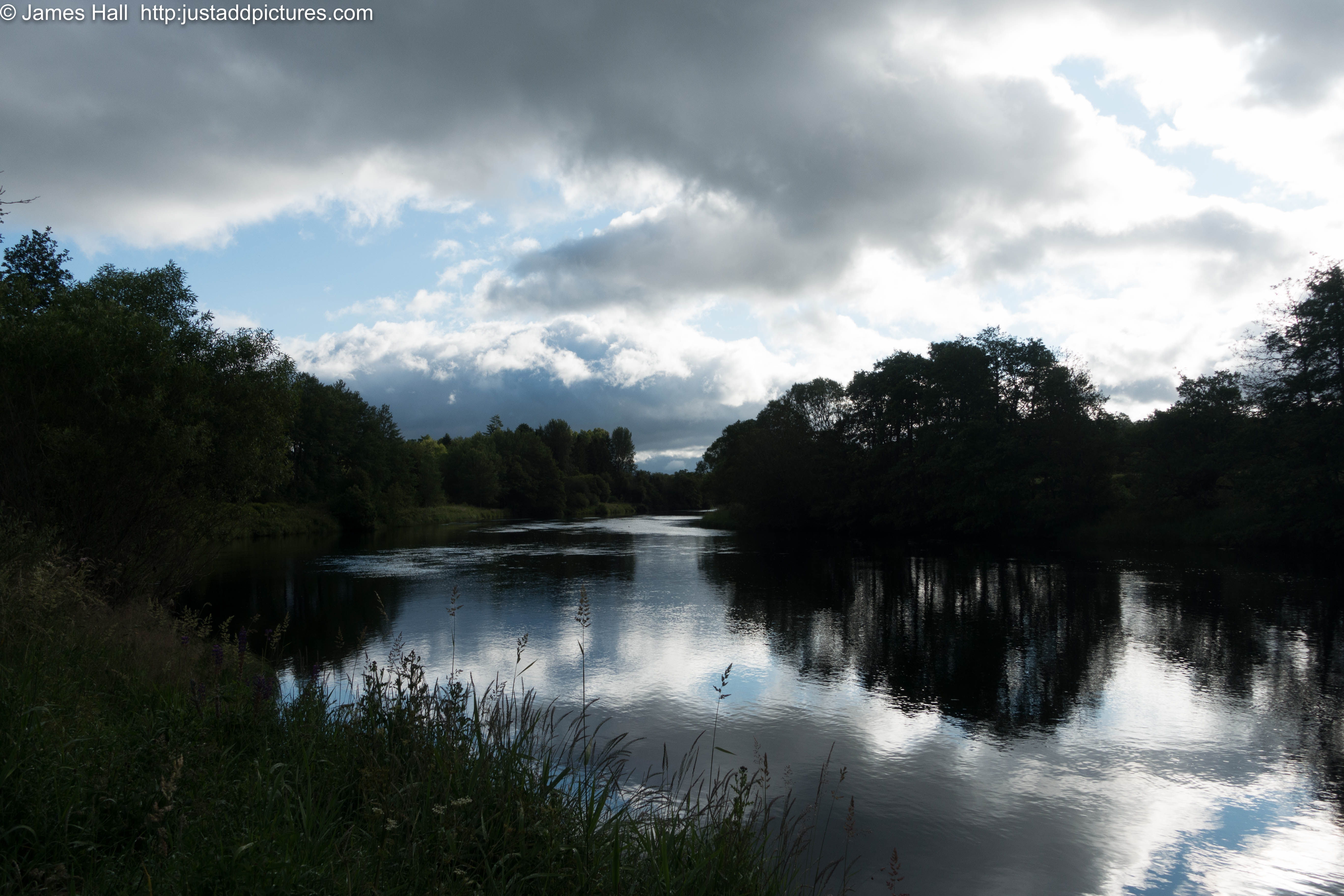 The River Spey at Grantown-on-Spey