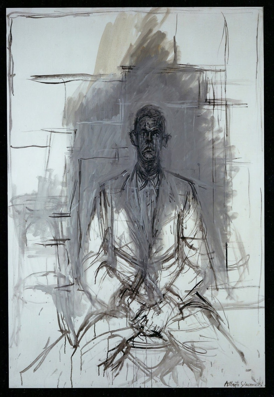 Portrait of James Lord, 1964