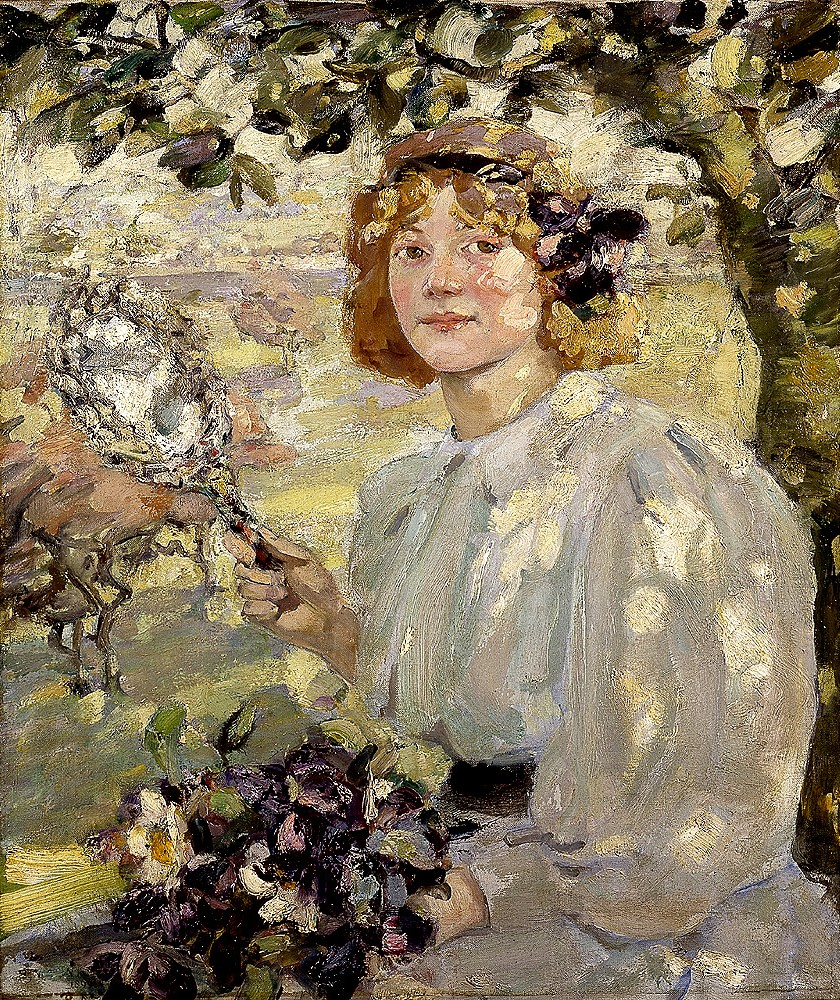 Bessie_MacNicol_-_Under_The_Apple_Tree_1899