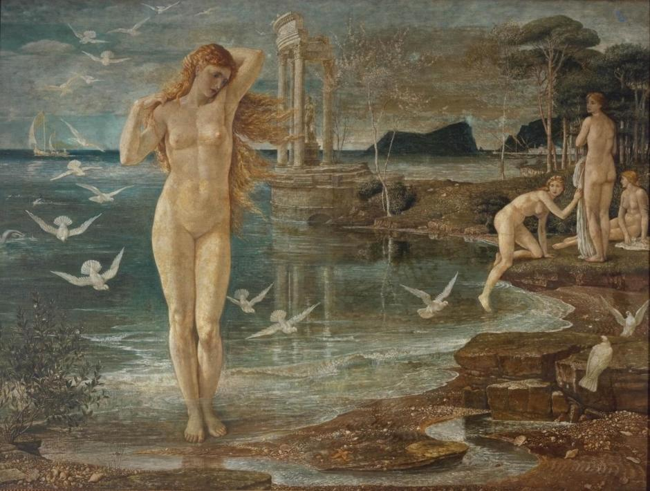 The Renaissance of Venus 1877 by Walter Crane 1845-1915