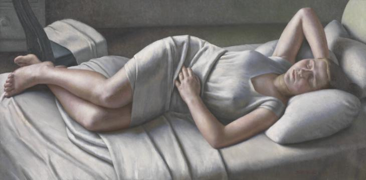 Morning 1926 by Dod Procter 1892-1972