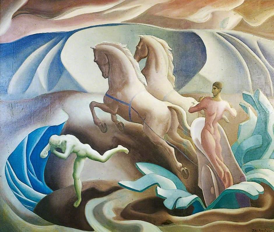 Armstrong, John, 1893-1973; The Rape of Persephone