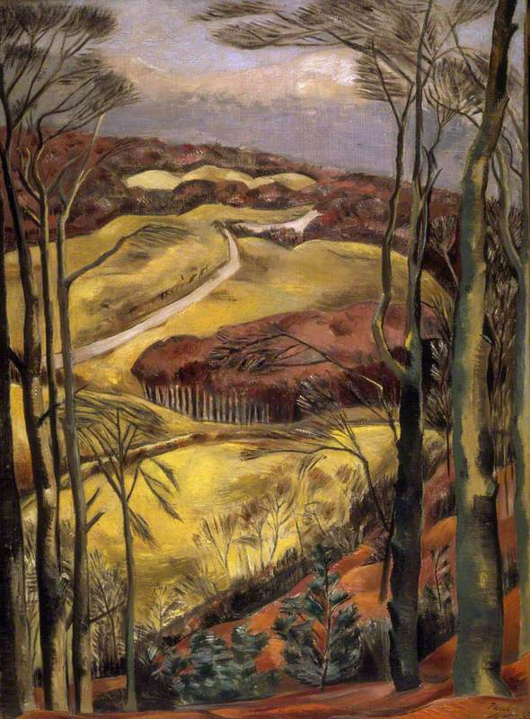 Nash, Paul, 1889-1946; Berkshire Downs