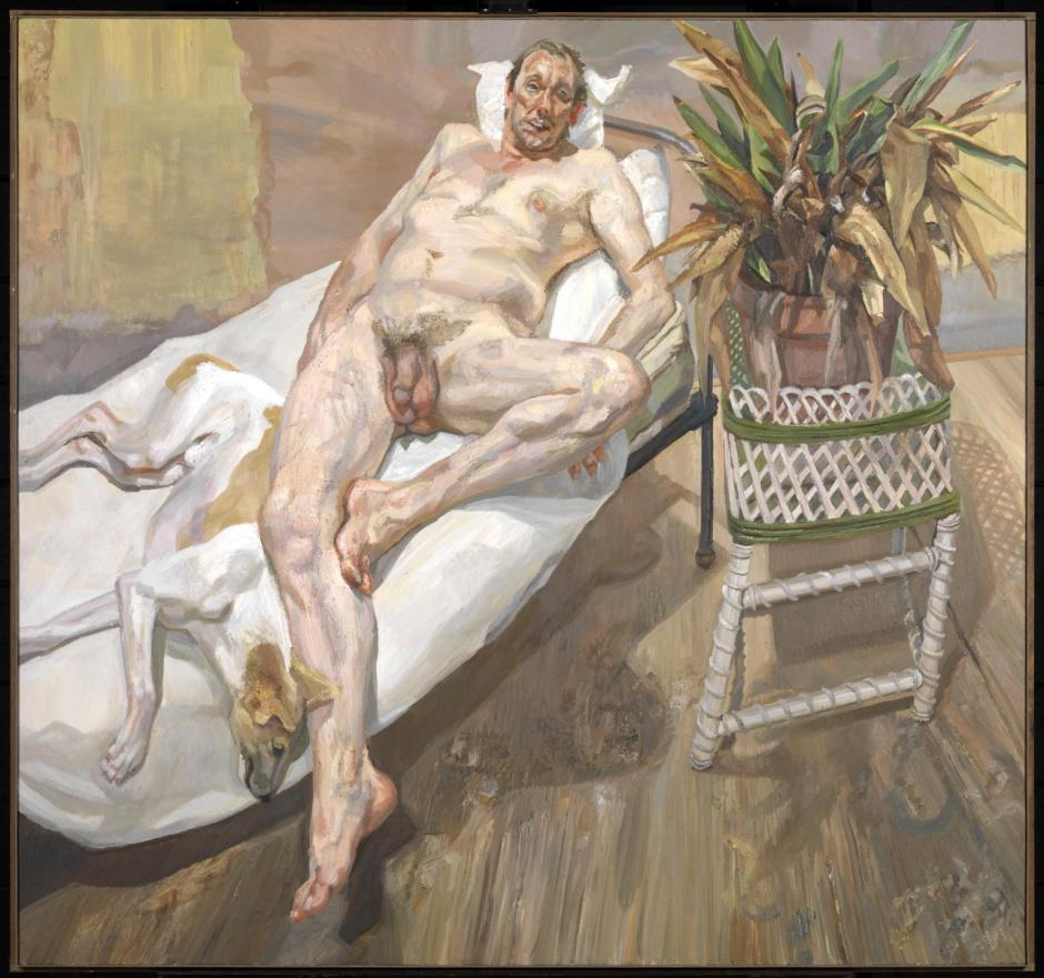 David and Eli 2003-4 by Lucian Freud 1922-2011